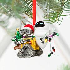 NEW 2011 Disney Store Parks Wall-e & EVE Robot Holiday Christmas Tree Ornament