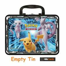 Pokemon EMPTY TIN | Fall 2019 Collectors Chest | Lunch Box Tin Card Storage TCG
