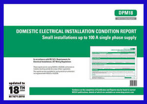 Domestic Electrical Installation Condition Report  DPM18