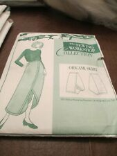 New ListingVintage Sewing Workshop Collection - Origami Skirt - Sizes 8 - 18 - Uncut