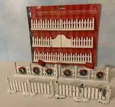 Vintage Miniature Picket Fence