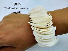 Girls Chic Bohemian White Shell Bracelet Beach Jewelry Sea Shell Bracelet Gift