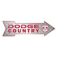 Arrow Sign - Dodge Country Car Auto Petrol Head Truck Man Cave Wall Art Mens Gif