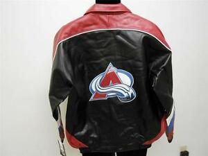 New Colorado Avalanche Mens sizes M-L-XL Bomber Style Jacket by G-III $60