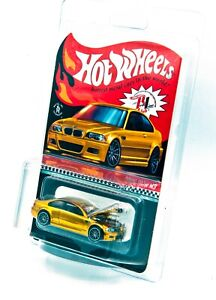 Hot Wheels 2021 RLC 2006 BMW M3 E46 Exclusive Spectraflame Yellow #10499
