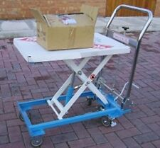 W&J Hydraulic Lift Table 150kg - NEW VAT Included