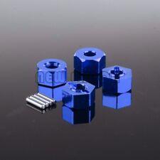 7MM Thickness 12MM Wheel Hex Mount+Pin For 1:10 RC Traxxas Slash 4x4 SLA016