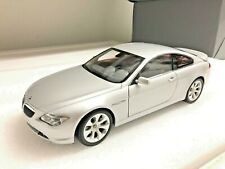 BMW 645Ci E64 E63 6 SERIES Coupe 1/18 Scale Diecast KYOSHO BMW Dealer Box Ut