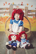 Raggedy Ann - Andy - Wig - Beanie - Hat - Any Size