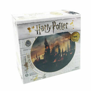 1000 Piece Jigsaw Puzzle - Harry Potter Hogwarts Castle On Fire