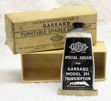Garrard Turntable Spindle Lubricant for Model 301 (small amount has been used)