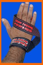 WRIST STRAPS PRO GRIP FITNESS WEIGHT LIFTING STRAPS GYM GLOVES TRAINING SUPPORT