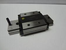 "THK RSR 12W linear ball bearing rail CNC slide guide 20mm 0.8"" stroke IKO NSK"