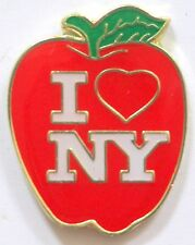 I Love New York Pin Big Apple New York City NYC America USA Lapel Hat Tie Tack