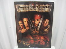 Pirates of the Caribbean Curse of Black Pearl Easy Piano Solo Music Song Book