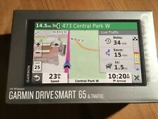 "GARMIN DRIVESMART 65 GPS NAVIGATOR 7"" TRAFFIC LIFETIME MAPS US/CAN #010-02038-02"
