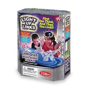 Light Up Links -158 Piece Set Building Links