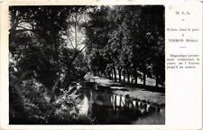 CPA Ecluse dans le parc a Yzeron (614711)
