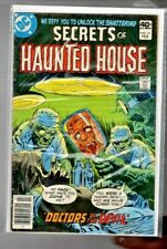 """vintage DC comic """" The SECRETS of HAUNTED HOUSE  # 21 """" bagged & boarded"""