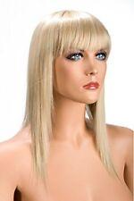 Perruques, extensions et matériel franges blonds longs pour femme