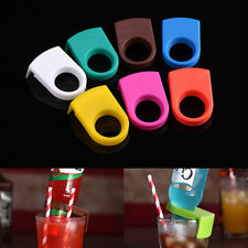 2pcs Beer Bottle Holder Clip Cocktail Glass Cup Goblet Clip Bar Club Supplies