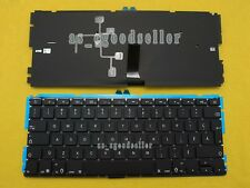 """New For APPLE Macbook Air A1369 A1466 MC965 MC966 13"""" Keyboard Canadian Backlit"""