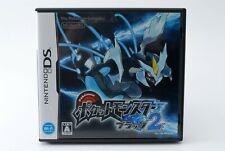 Gebraucht Nintendo DS Pokemon Schwarz 2 Spiel Japan Import 26