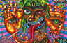 Framed Print - Psychedelic LSD Acid Trip Hallucinations (Colourful Picture Art)