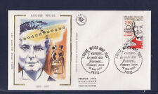 enveloppe 1er jour   Louise Weiss  Europe  Paris    1993