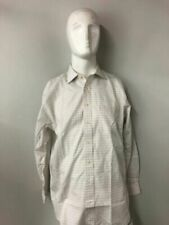 Camicie classiche da uomo bianche a fantasia righe