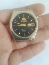 vintage ORIENT CRYSTAL 21 JEWELS AUTOMATIC watch working for spare