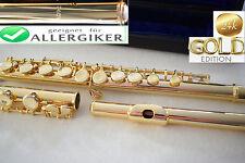 Dwarsfluit Goud Gold Flute 24 karaat 24 C GOLD Flute (999,9)