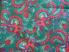 WtW Fabric Floral Flower 4 Season for Quilts RJR Beyer Folk Pineapple BTY Quilt