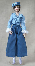 Jeans suit with chic handmade outfit for Tonner doll Cami Antoinette Body 16""