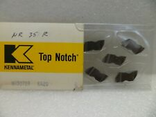 """KENNAMETAL NR3078R KENDEX INDEXABLE CARBIDE 5/32"""" GROOVING INSERTS FULL RAD. NOS"""
