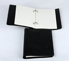 Silvine Loose Leaf Pocket Memo Anello Libro Nero