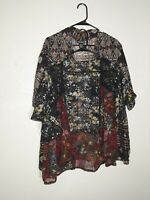 Lot Of Two Kimono Tops M L One Size Fits Most