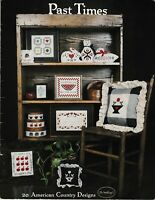 Past Times 20 American Country Designs Cross Stitch | The Needle and I