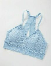 Justice Powder Blue Lace Keyhole Back Bralette Bra Size 30 - New With Tags
