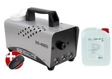 MACHINE BROUILLARD FUMEE ARTIFICIELLE BRUME EFFET SCENE LED BLEU 5L FLUIDE 400W