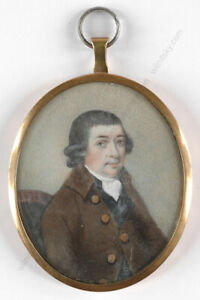 """""""Portrait of a gentleman"""" Anglo-American School of the late 18th century"""