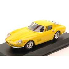 FERRARI 275 GTB 4 1966 YELLOW 1:43 Best Model Auto Stradali Die Cast Modellino