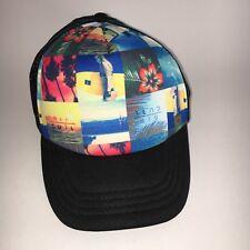 Rip Curl Boys Hat Trucker Cap EUC Black