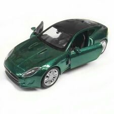 BRITISH RACING GREEN Jaguar F-Type Coupe 1:38 Scale Model Car - WELLY Christmas