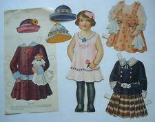 Antique Victorian My Favorite Dressing Dolls Paper Dolls 1895 Complete Lauretta
