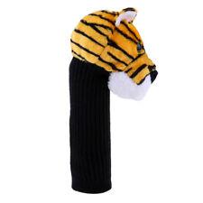 Tiger Head Animal Golf Club Headcover Wood Driver Head Cover Christmas Gift