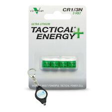 Viridian CR1/3N 3V Lithium Battery - 4-Pack + Keychain Light