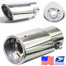 DIY Stainless Steel Tail Throat For Car Exhaust Pipe Diameter Less Than 48mm