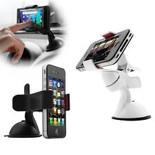 Supports universel BLANC pour téléphone smartphone i phone galaxy S5  GPS MP4