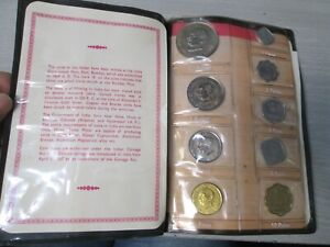 1969 Republic of India 9 Coin Proof Set